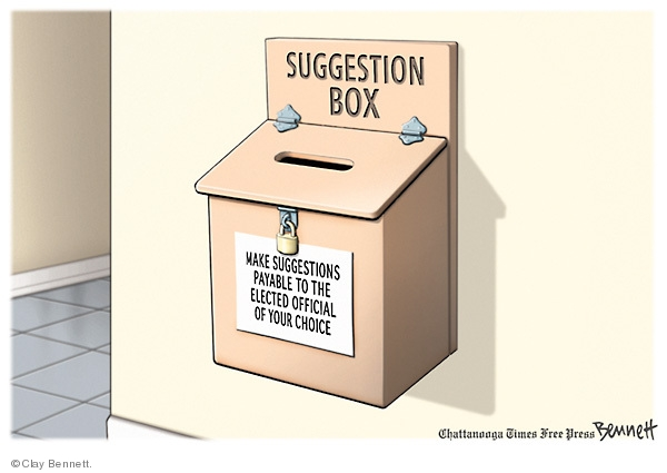 Cartoonist Clay Bennett  Clay Bennett's Editorial Cartoons 2009-06-24 special interest