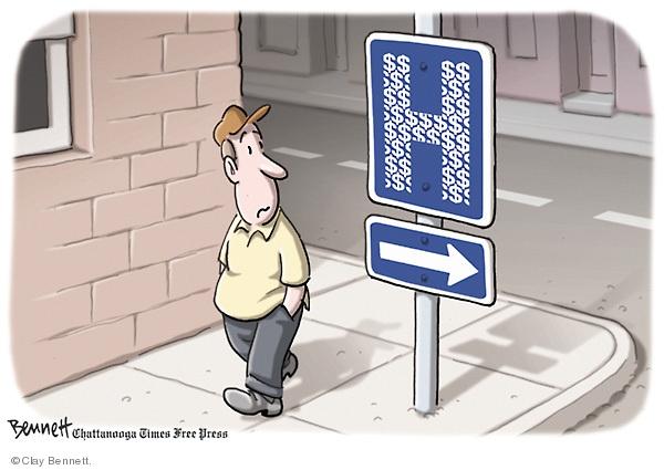 Clay Bennett  Clay Bennett's Editorial Cartoons 2009-07-16 cost