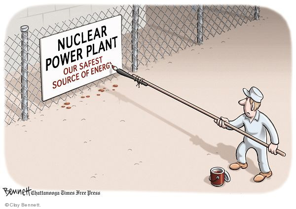 Cartoonist Clay Bennett  Clay Bennett's Editorial Cartoons 2009-07-21 nuclear power