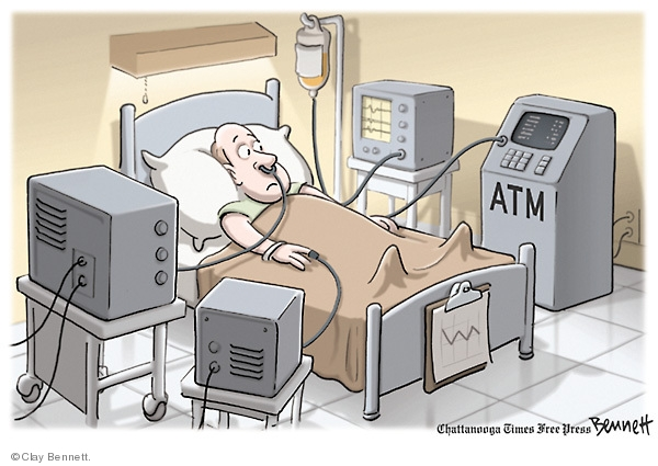 Clay Bennett  Clay Bennett's Editorial Cartoons 2009-07-22 expense