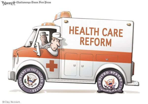 Cartoonist Clay Bennett  Clay Bennett's Editorial Cartoons 2009-07-25 congress health care