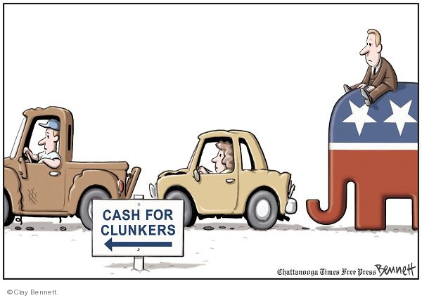 Clay Bennett  Clay Bennett's Editorial Cartoons 2009-07-28 transportation