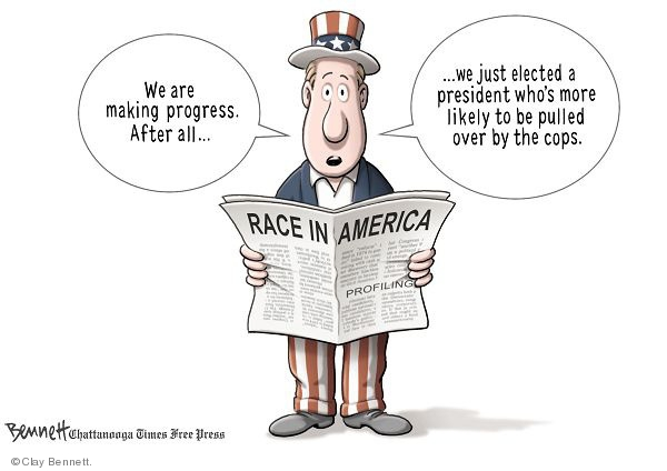 Clay Bennett  Clay Bennett's Editorial Cartoons 2009-07-29 racism