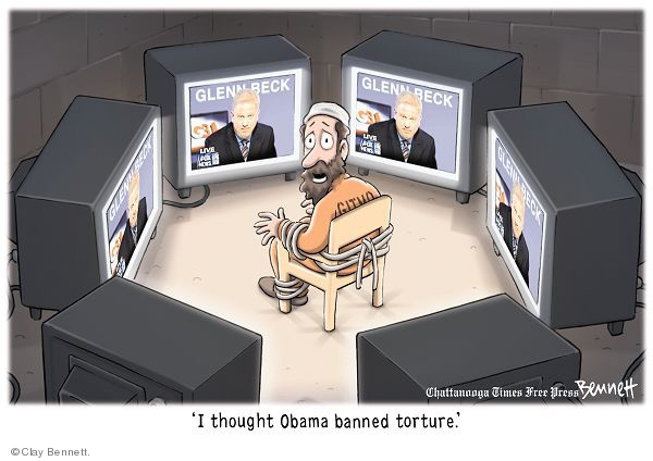 Cartoonist Clay Bennett  Clay Bennett's Editorial Cartoons 2009-08-25 Fox News Obama