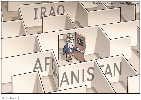 Cartoonist Clay Bennett  Clay Bennett's Editorial Cartoons 2009-08-26 uncle