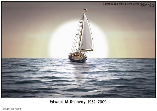 Edward M. Kennedy. 1932-2009.