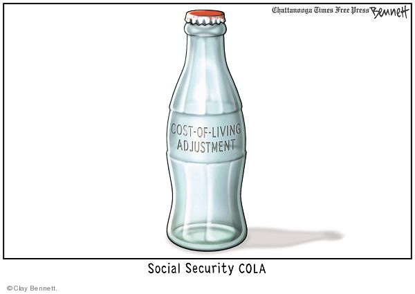 Cost-of-living adjustment. Social Security Cola.