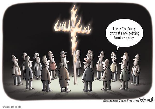 Clay Bennett  Clay Bennett's Editorial Cartoons 2009-09-16 racism