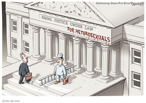 Equal Justice Under Law for Heterosexuals.