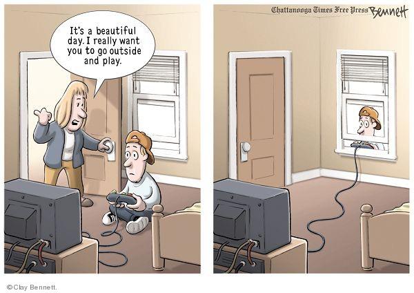 Clay Bennett  Clay Bennett's Editorial Cartoons 2009-10-22 playing