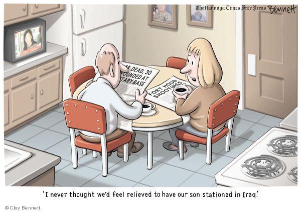 Clay Bennett  Clay Bennett's Editorial Cartoons 2009-11-07 parent