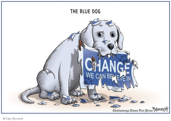 Clay Bennett  Clay Bennett's Editorial Cartoons 2009-11-12 sign in