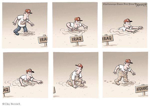 Cartoonist Clay Bennett  Clay Bennett's Editorial Cartoons 2009-11-29 state