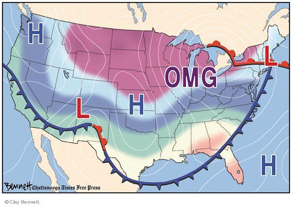 Clay Bennett  Clay Bennett's Editorial Cartoons 2009-12-10 map
