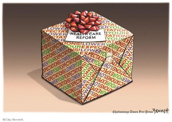 Cartoonist Clay Bennett  Clay Bennett's Editorial Cartoons 2009-12-16 paper