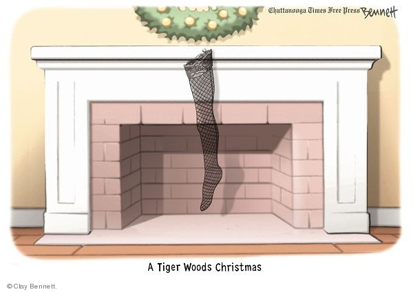 A Tiger Woods Christmas.