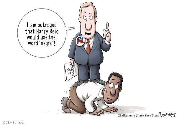 Clay Bennett  Clay Bennett's Editorial Cartoons 2010-01-13 racism