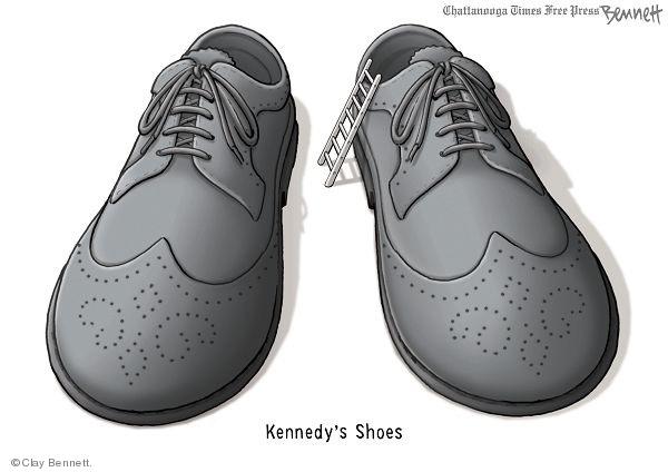 Cartoonist Clay Bennett  Clay Bennett's Editorial Cartoons 2010-01-20 shoe