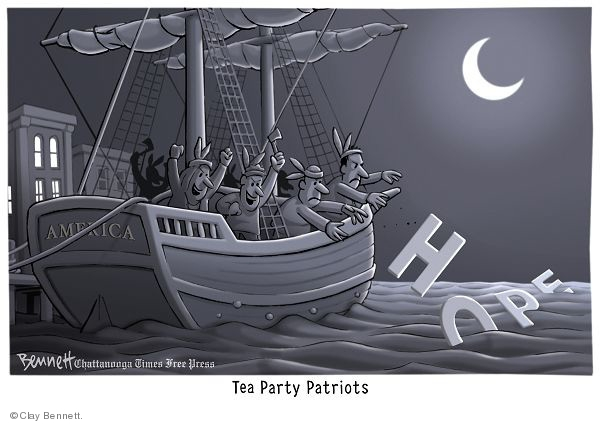 Cartoonist Clay Bennett  Clay Bennett's Editorial Cartoons 2010-01-24 letter
