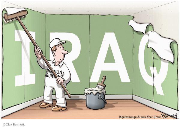 Cartoonist Clay Bennett  Clay Bennett's Editorial Cartoons 2010-01-31 building