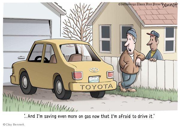 Clay Bennett  Clay Bennett's Editorial Cartoons 2010-02-06 driver