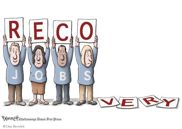 Cartoonist Clay Bennett  Clay Bennett's Editorial Cartoons 2010-02-27 unemployment
