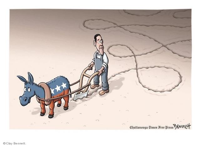 Cartoonist Clay Bennett  Clay Bennett's Editorial Cartoons 2010-03-10 dig