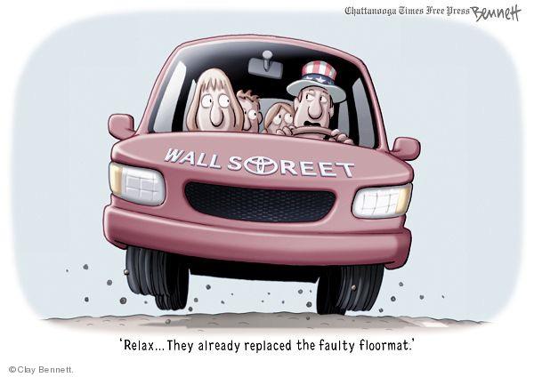 Cartoonist Clay Bennett  Clay Bennett's Editorial Cartoons 2010-03-13 oversight