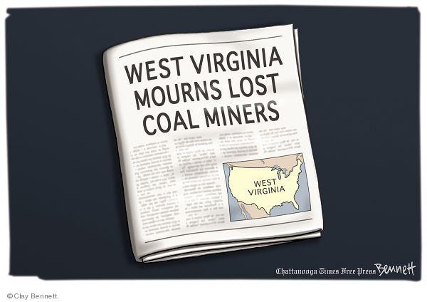 Cartoonist Clay Bennett  Clay Bennett's Editorial Cartoons 2010-04-07 Virginia