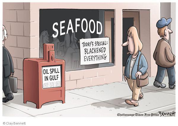 Clay Bennett  Clay Bennett's Editorial Cartoons 2010-04-29 environment