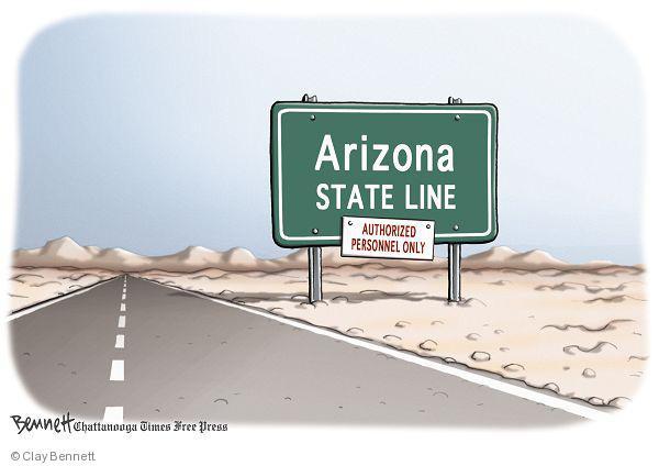 Cartoonist Clay Bennett  Clay Bennett's Editorial Cartoons 2010-05-20 state