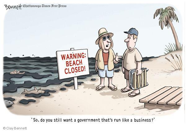 Clay Bennett  Clay Bennett's Editorial Cartoons 2010-06-16 environment