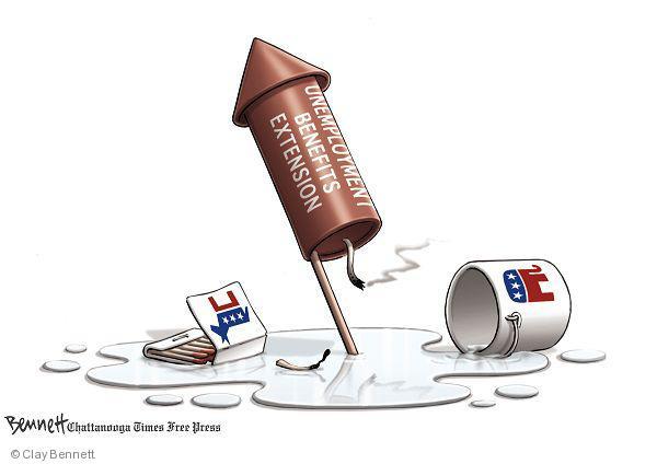 Clay Bennett  Clay Bennett's Editorial Cartoons 2010-07-04 firecracker