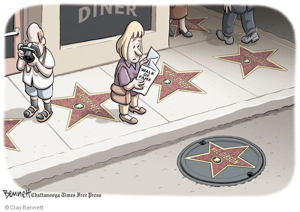 Clay Bennett  Clay Bennett's Editorial Cartoons 2010-07-13 street