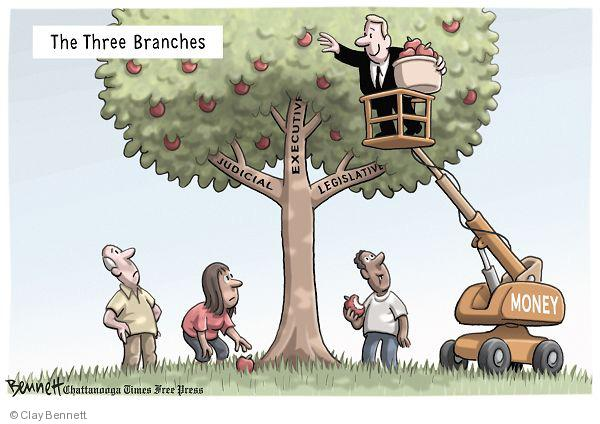 Cartoonist Clay Bennett  Clay Bennett's Editorial Cartoons 2010-07-23 separation