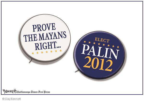 Cartoonist Clay Bennett  Clay Bennett's Editorial Cartoons 2010-08-03 button