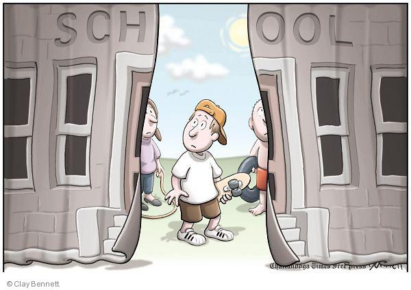Clay Bennett  Clay Bennett's Editorial Cartoons 2010-08-11 jump rope