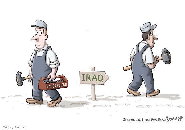 Iraq. Nation building.