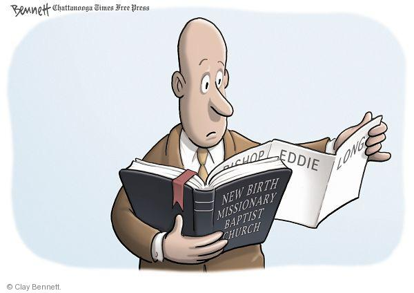 Cartoonist Clay Bennett  Clay Bennett's Editorial Cartoons 2010-09-30 photo