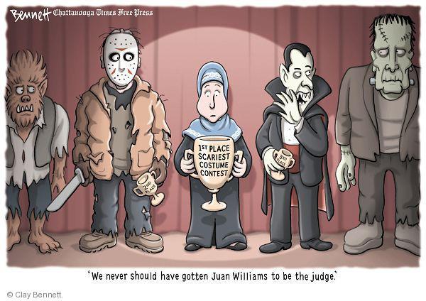 Cartoonist Clay Bennett  Clay Bennett's Editorial Cartoons 2010-10-27 appearance