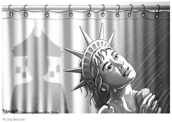 Clay Bennett  Clay Bennett's Editorial Cartoons 2010-10-29 mid