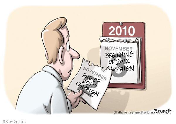 Clay Bennett  Clay Bennett's Editorial Cartoons 2010-11-03 mid