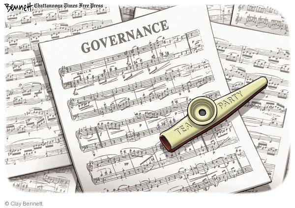 Clay Bennett  Clay Bennett's Editorial Cartoons 2010-11-06 instrument