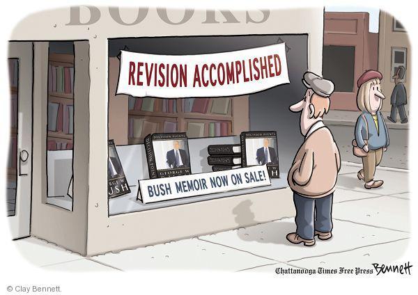 Cartoonist Clay Bennett  Clay Bennett's Editorial Cartoons 2010-11-09 building