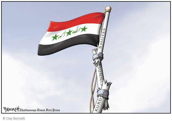 Clay Bennett  Clay Bennett's Editorial Cartoons 2010-11-13 Shiite