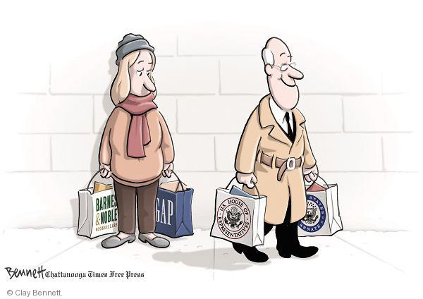 Cartoonist Clay Bennett  Clay Bennett's Editorial Cartoons 2010-11-30 campaign finance