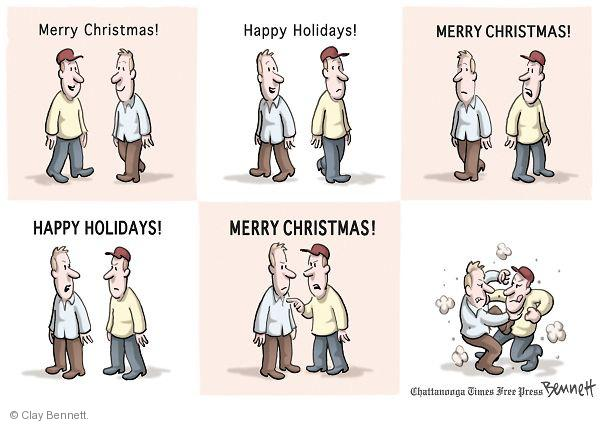 Cartoonist Clay Bennett  Clay Bennett's Editorial Cartoons 2010-12-09 separation