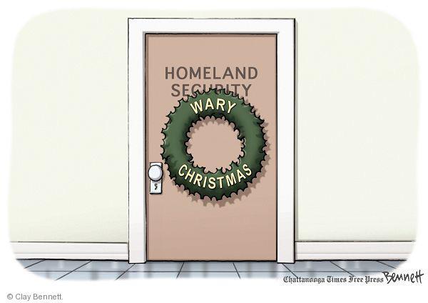 Clay Bennett  Clay Bennett's Editorial Cartoons 2010-12-16 Homeland Security