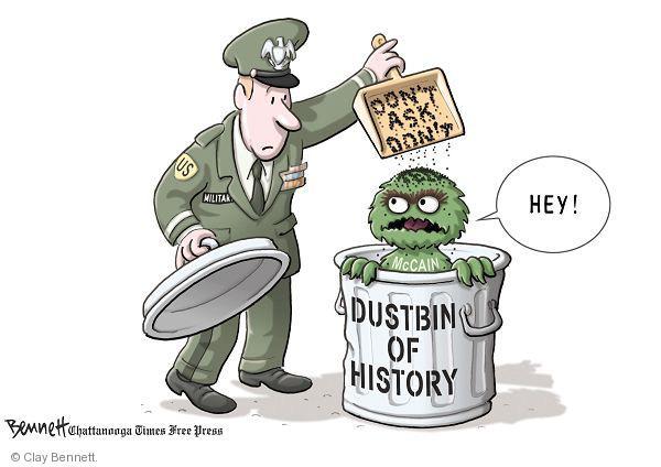 Cartoonist Clay Bennett  Clay Bennett's Editorial Cartoons 2010-12-21 history