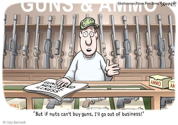 Cartoonist Clay Bennett  Clay Bennett's Editorial Cartoons 2011-01-13 ammo